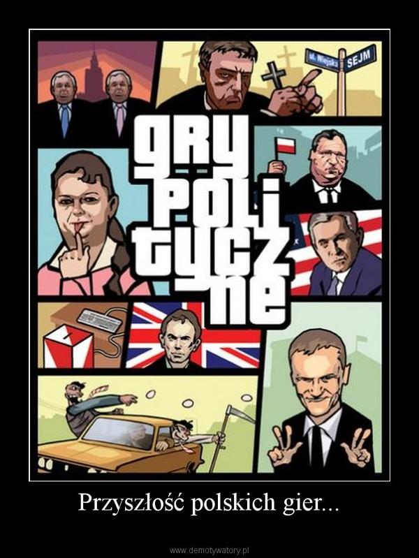 Przyszłość polskich gier... –