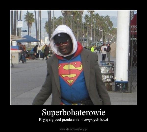 Superbohaterowie – Kryją się pod przebraniami zwykłych ludzi