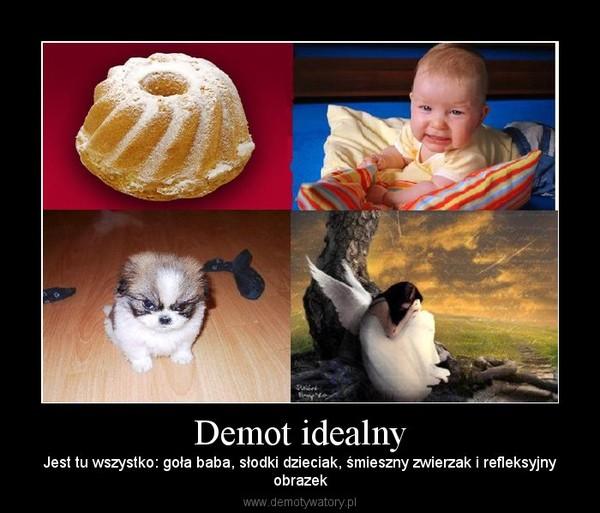 Demot idealny – Jest tu wszystko: goła baba, słodki dzieciak, śmieszny zwierzak i refleksyjnyobrazek