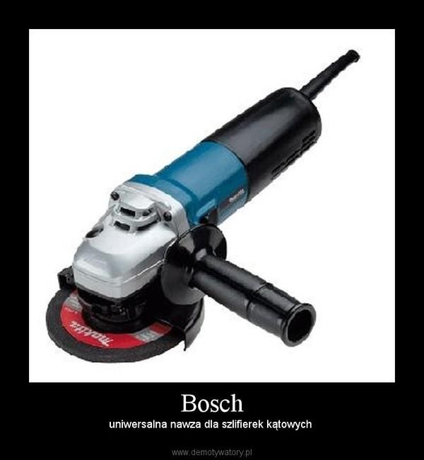 Bosch – uniwersalna nawza dla szlifierek kątowych