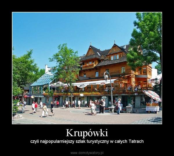 Krupówki – czyli najpopularniejszy szlak turystyczny w całych Tatrach