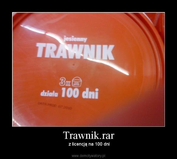Trawnik.rar –  z licencją na 100 dni