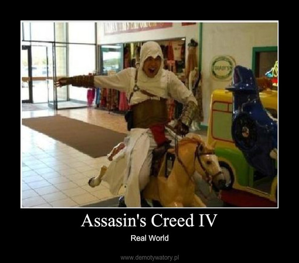 Assasin's Creed IV – Real World