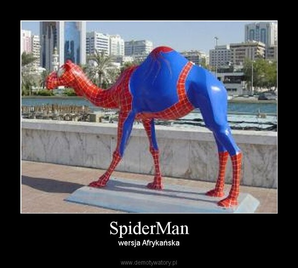 SpiderMan – wersja Afrykańska