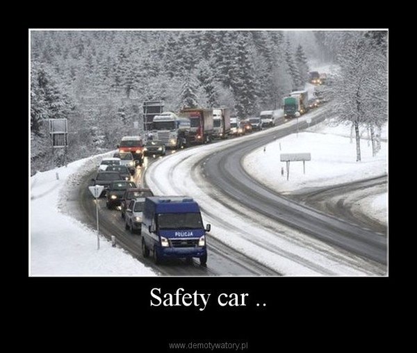 Safety car .. –