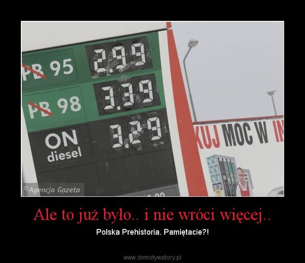 Ale to już było.. i nie wróci więcej.. – Polska Prehistoria. Pamiętacie?!