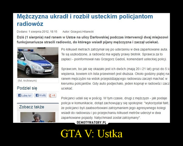 GTA V: Ustka –