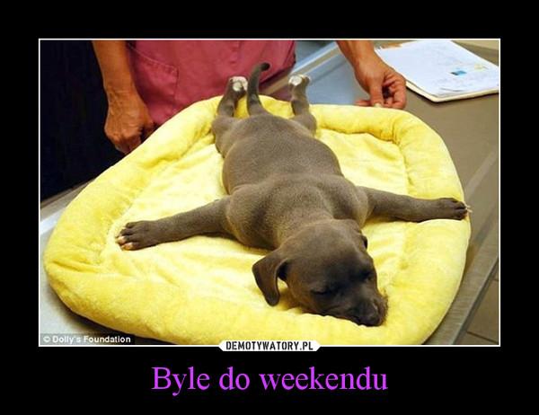 Byle do weekendu –