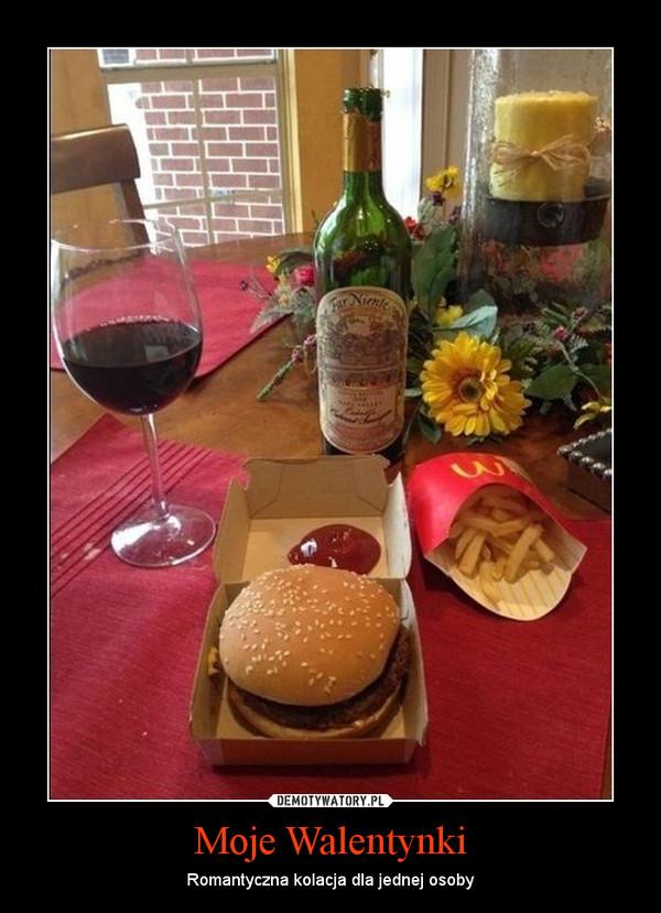 Moje Walentynki – Romantyczna kolacja dla jednej osoby