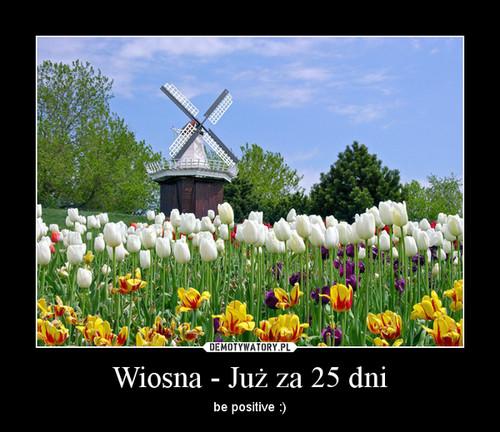 Wiosna - Już za 25 dni