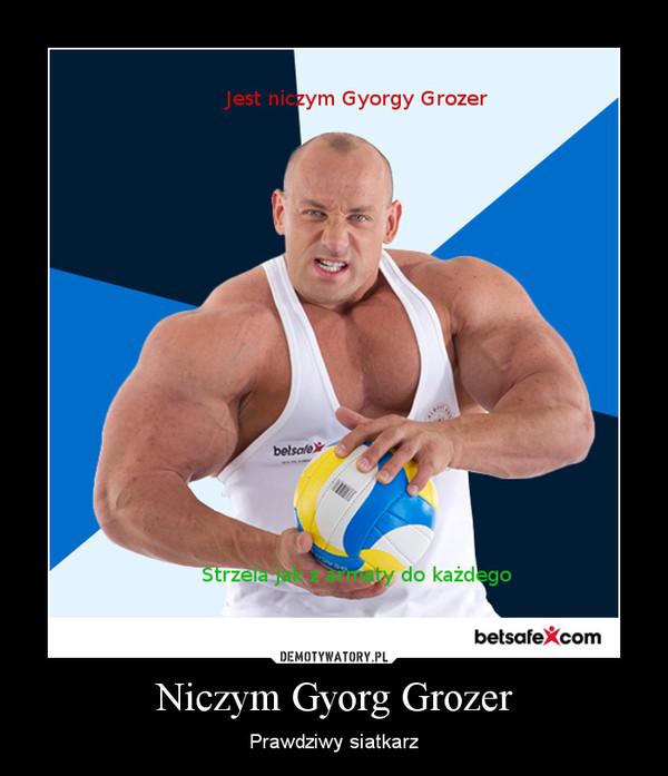 Niczym Gyorg Grozer – Prawdziwy siatkarz