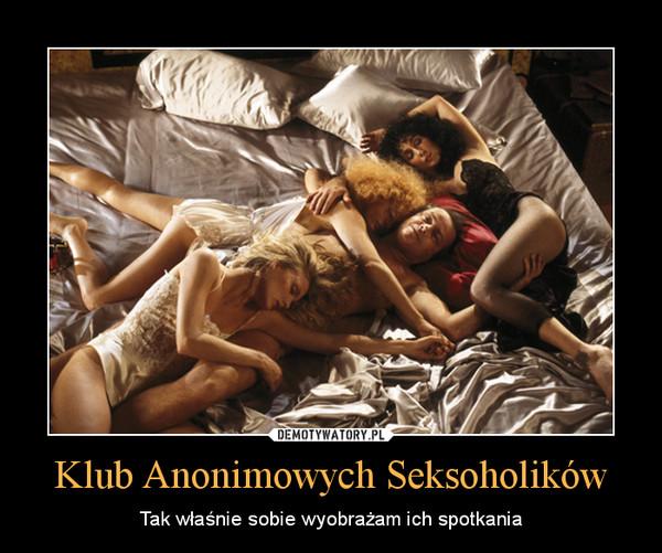 Klub Anonimowych Seksoholików – Tak właśnie sobie wyobrażam ich spotkania