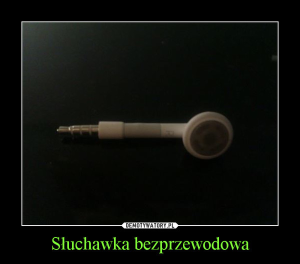 Słuchawka bezprzewodowa –