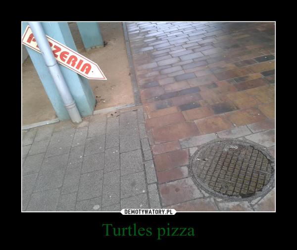 Turtles pizza –