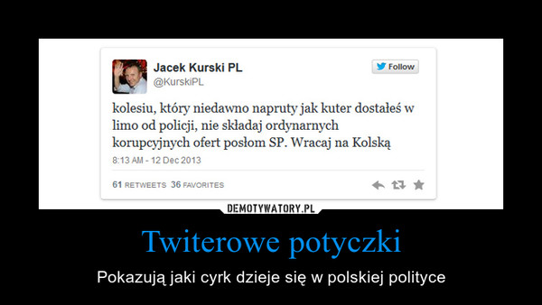 Twiterowe potyczki – Pokazują jaki cyrk dzieje się w polskiej polityce