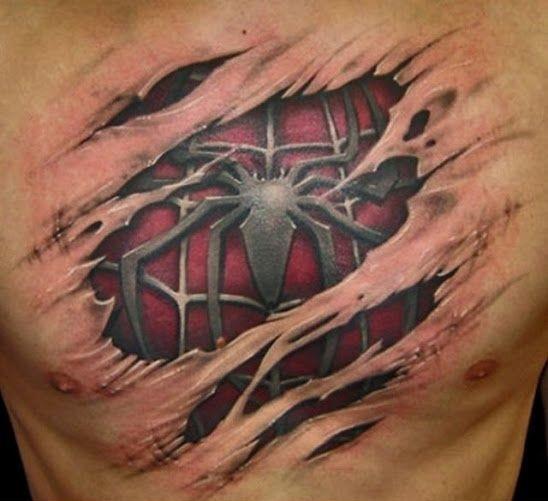 41 Najbardziej Niesamowitych I Pomysłowych Tatuaży 3d Demotywatorypl