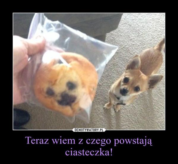 Teraz wiem z czego powstają ciasteczka! –