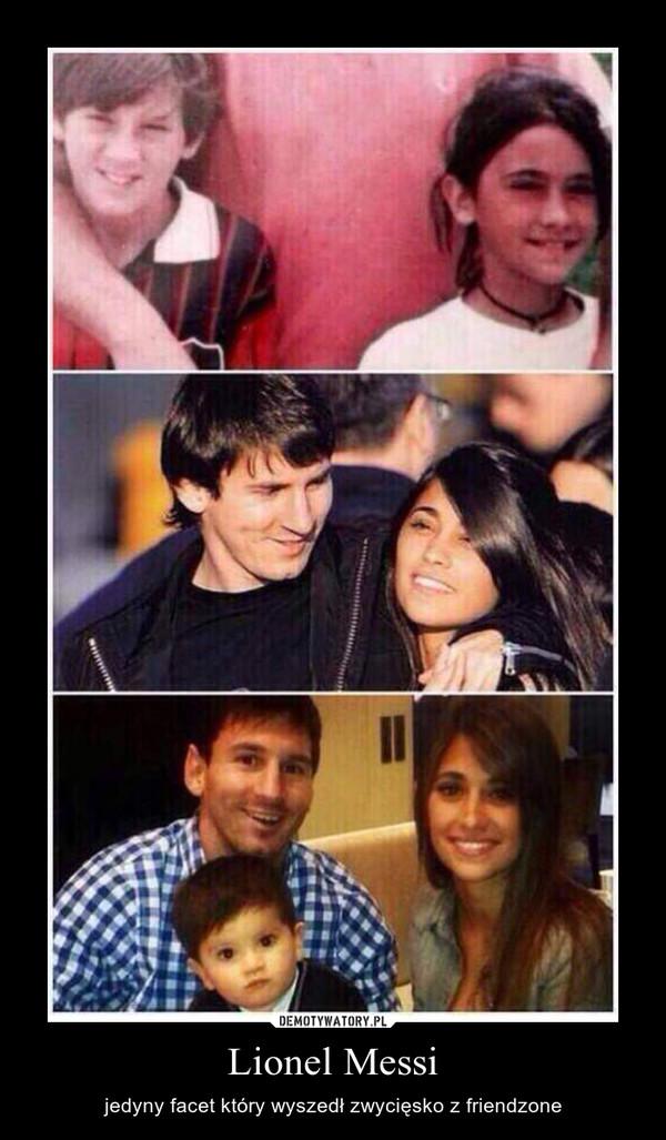 Lionel Messi – jedyny facet który wyszedł zwycięsko z friendzone