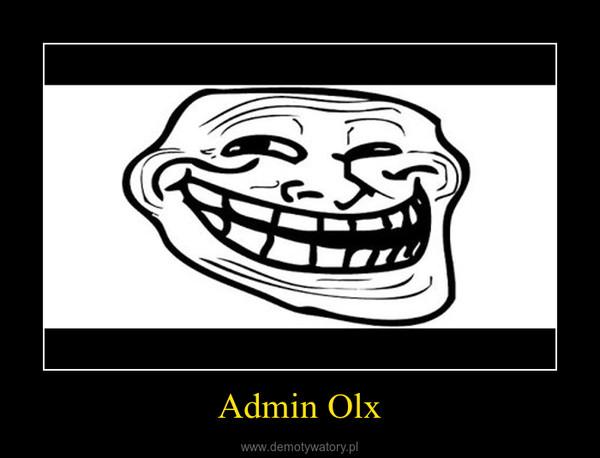 Admin Olx –