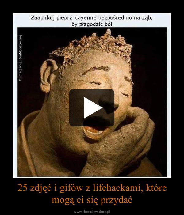 25 zdjęć i gifów z lifehackami, które mogą ci się przydać –