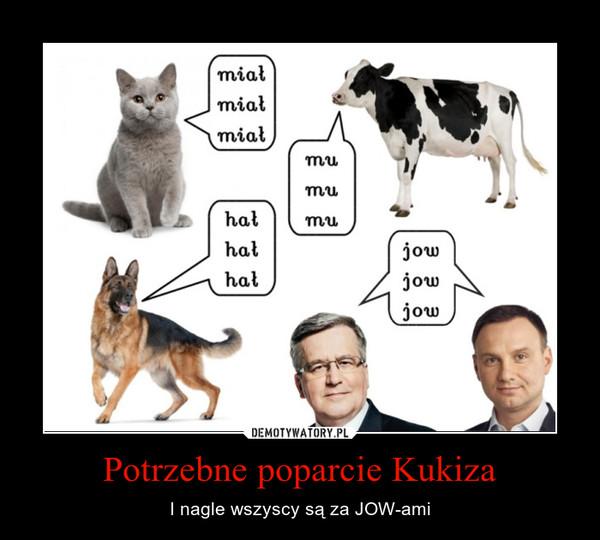 Potrzebne poparcie Kukiza – I nagle wszyscy są za JOW-ami