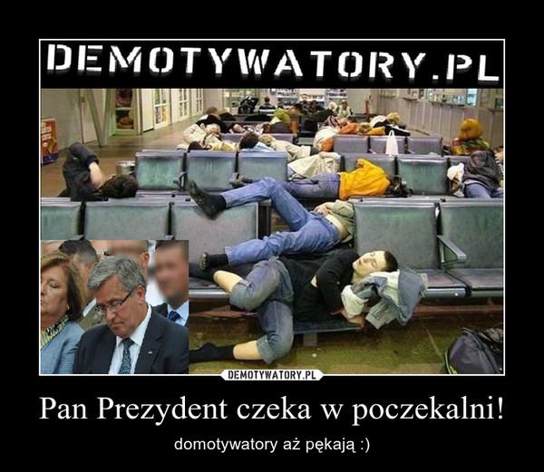 Pan Prezydent czeka w poczekalni! – domotywatory aż pękają :)