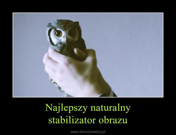 Najlepszy naturalnystabilizator obrazu –
