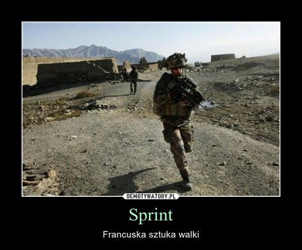 Sprint – Francuska sztuka walki