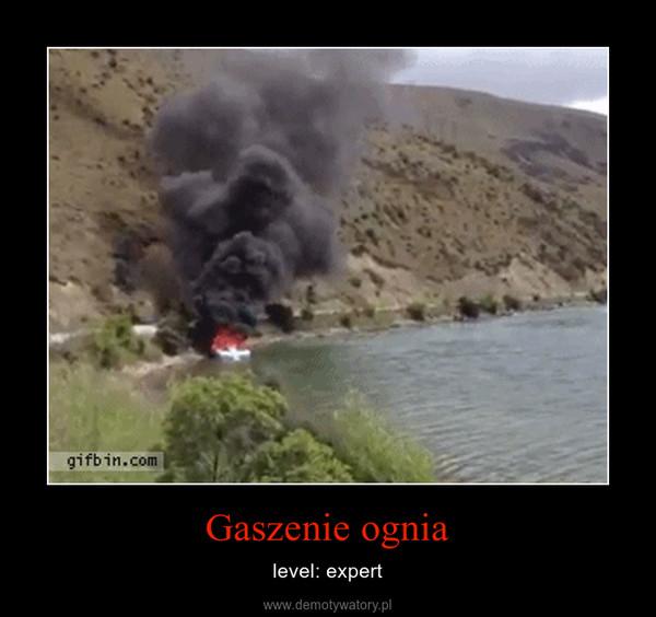Gaszenie ognia – level: expert