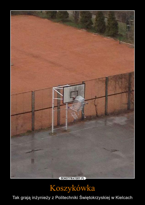Koszykówka – Tak grają inżynieży z Politechniki Świętokrzyskiej w Kielcach
