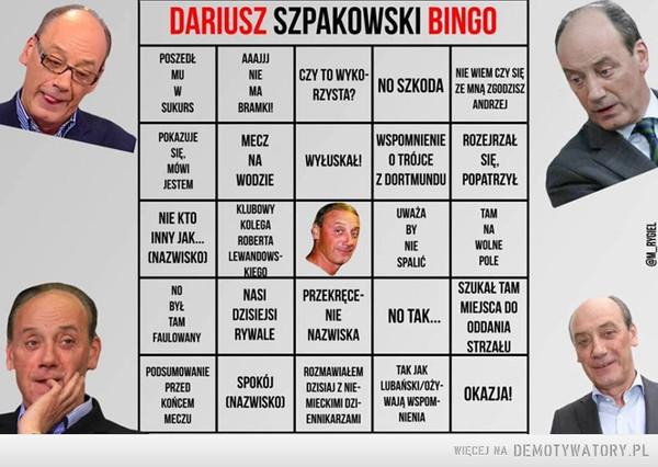 Bingo Szpakowskiego –