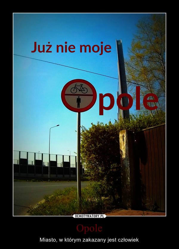 Opole – Miasto, w którym zakazany jest człowiek