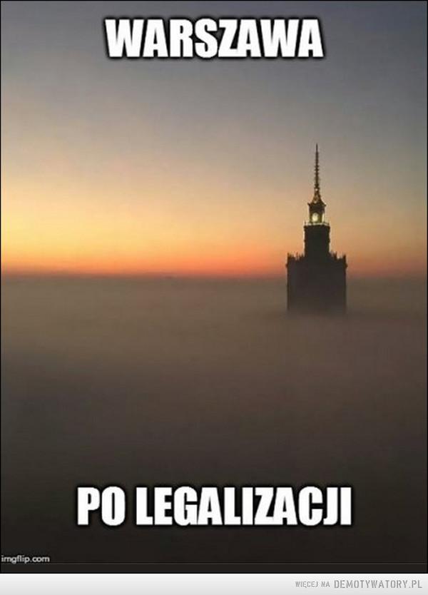 Warszawa po legalizacji –  WARSZAWAPO LEGALIZACJI