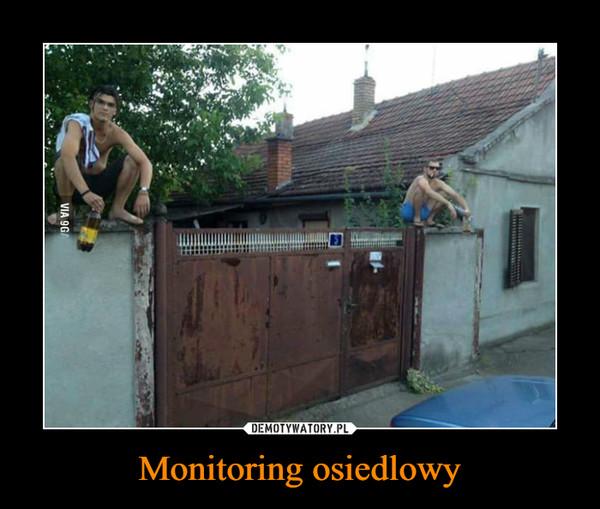 Monitoring osiedlowy –