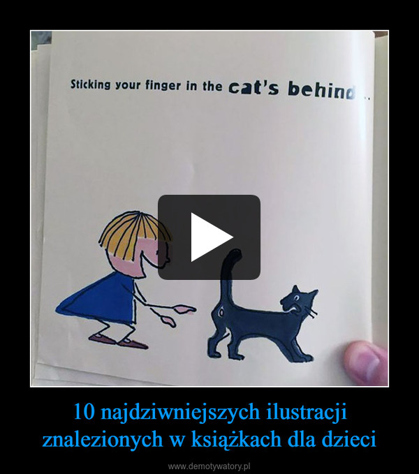 10 najdziwniejszych ilustracji znalezionych w książkach dla dzieci –