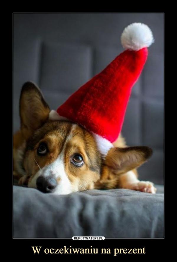 W oczekiwaniu na prezent –