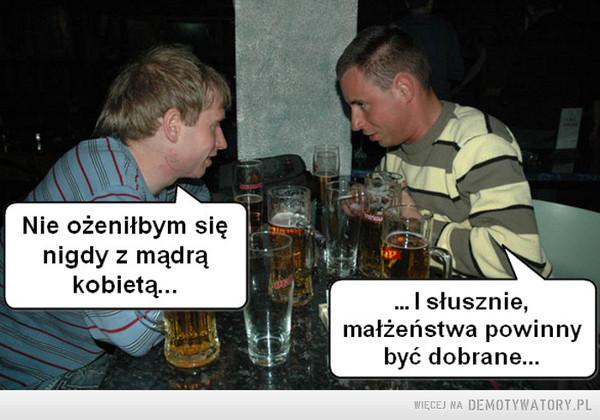 Rozważania przy piwie... –
