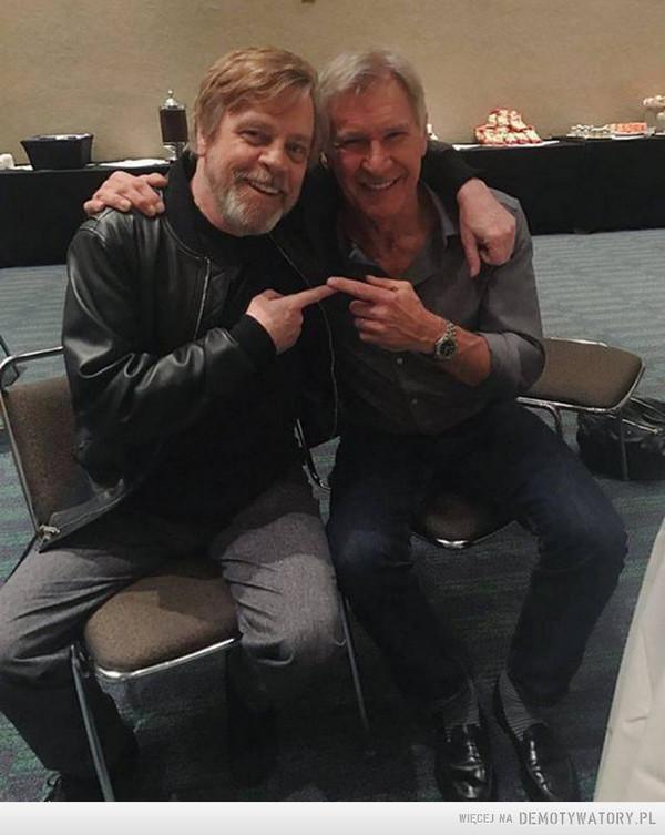Luke Skaywalker i Han Solo –