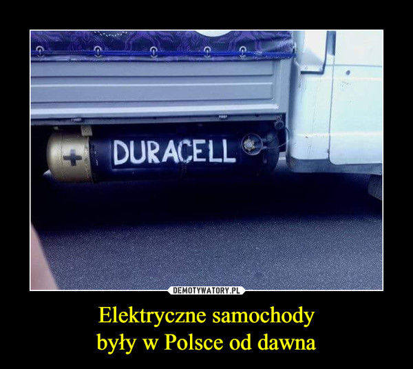 Elektryczne samochodybyły w Polsce od dawna –