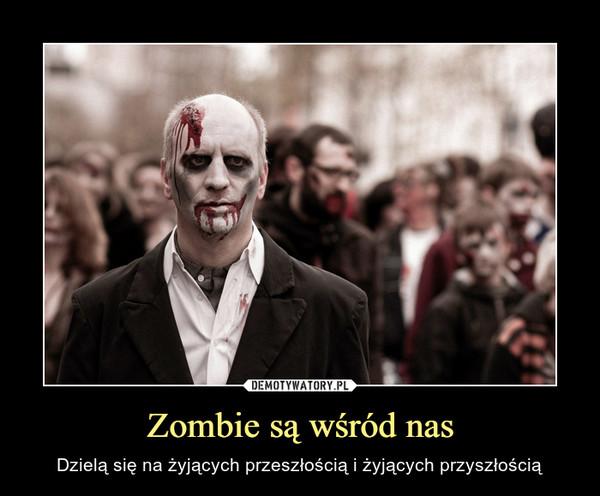 Zombie są wśród nas – Dzielą się na żyjących przeszłością i żyjących przyszłością