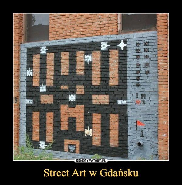 Street Art w Gdańsku