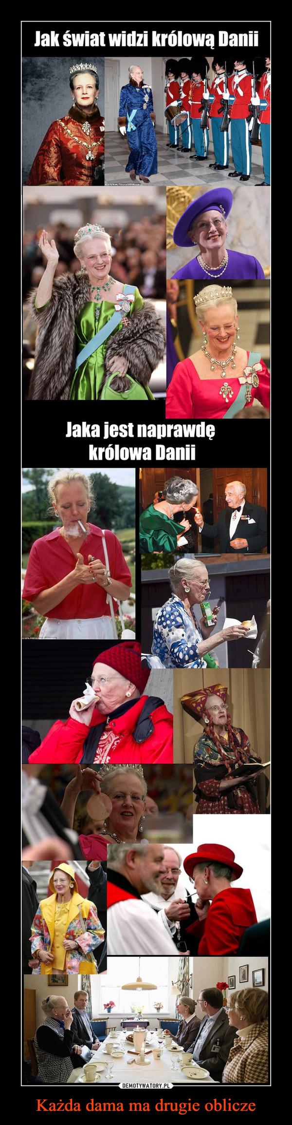 Każda dama ma drugie oblicze –  Jak świat widzi królową DaniiJaka jest naprawde królowa Danii