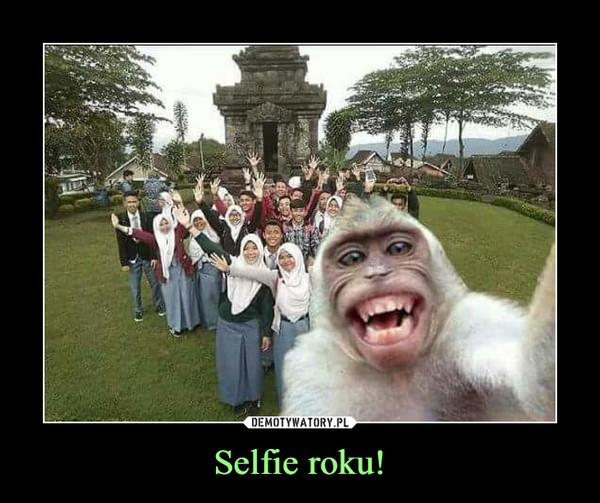 Selfie roku! –