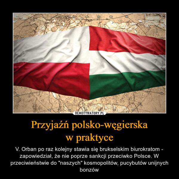 Przyjaźń polsko-węgierska w praktyce