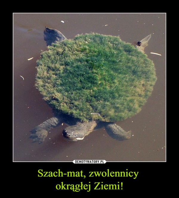 Szach-mat, zwolennicy okrągłej Ziemi! –