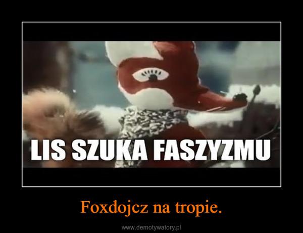 Foxdojcz na tropie. –