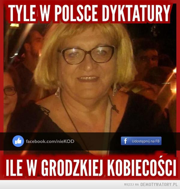Dyktatura w Polsce –
