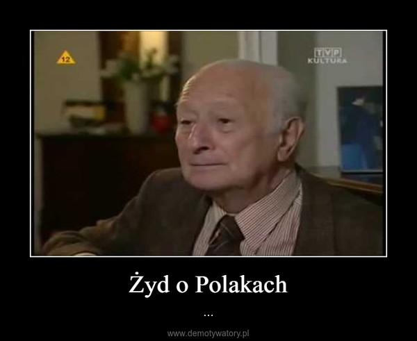 Żyd o Polakach – ...