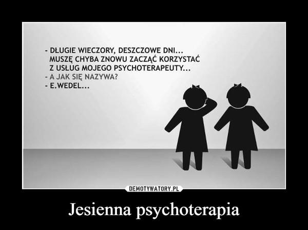 Jesienna psychoterapia –