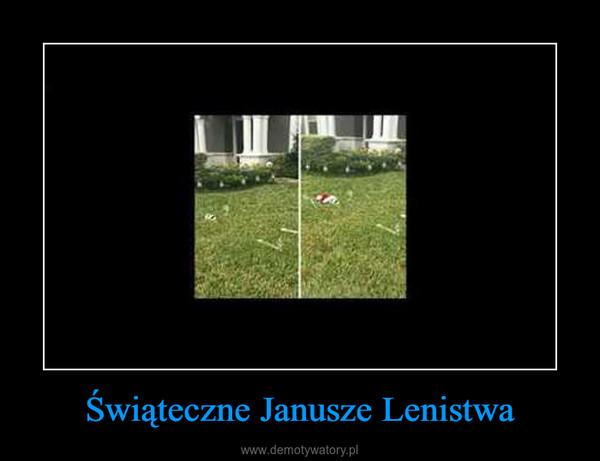 Świąteczne Janusze Lenistwa –